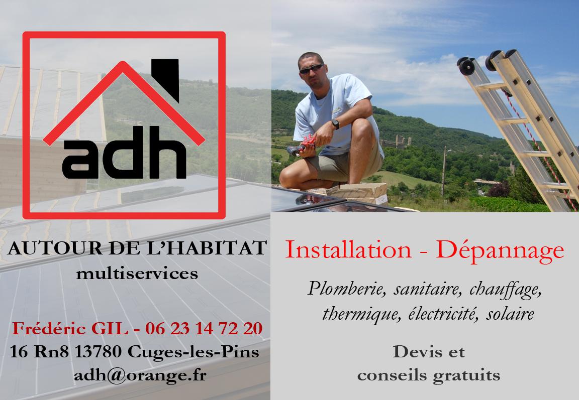 ADH Plombier A Proximite DAubagne